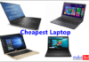 cheapest laptop