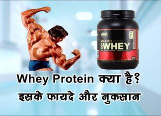 Whey Protein क्या है इसके फायदे और नुकसान
