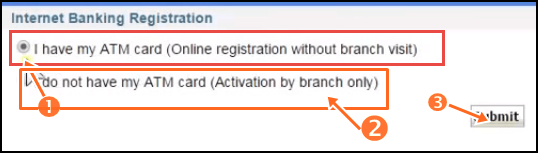 sbi netbanking online activate kare with ATM aur without ATM