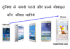 Top 5 thinnest and light weight mobile in india with price