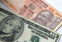 indian rupee and dollar history