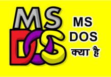 MS DOS क्या है कैसे काम करता है पूरी जानकारी