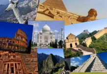 दुनिया के सात अजूबे फोटो सहित देखिये 7 Wonders of the World in Hindi
