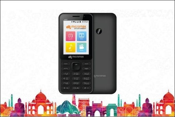Micromax का सबसे सस्ता 4G मोबाइल फोन 2,199 कीमत