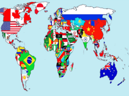 दुनिया के सबसे बड़े देश की लिस्ट