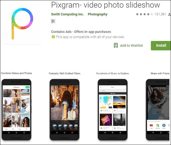 Photo से Video बनाने वाला Apps डाउनलोड