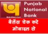 PNB Bank Account का Balance कैसे चेक करे