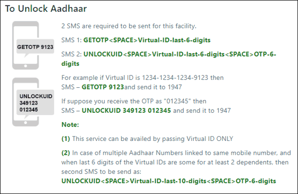 Aadhar Card Lock Or Unlock Kaise Kare