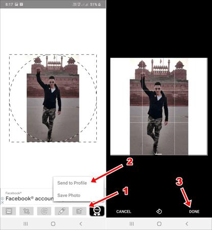 WhatsApp पर Full DP कैसे लगाएं