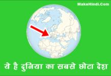 दुनिया का सबसे छोटा देश कौन सा है