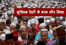 दुनिया में कुल कितने मुस्लिम देश है