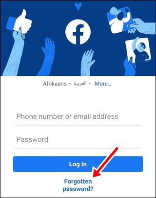 How to open old Facebook Account