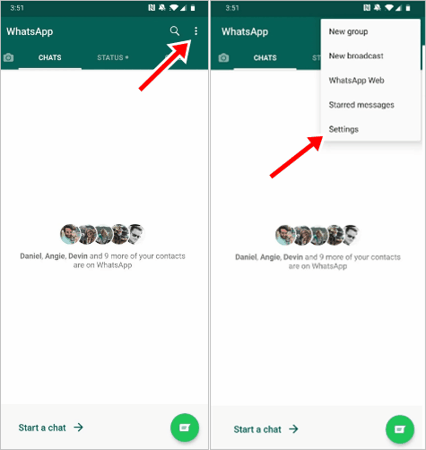 व्हाट्सएप का बैकअप कैसे लें लेते हैं