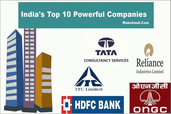भारत की सबसे बड़ी कंपनी कौन सी है