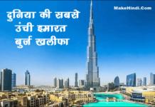 दुनिया की सबसे ऊंची बिल्डिंग कौन सी है